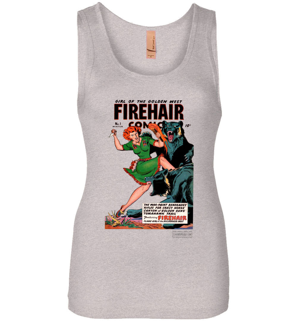 Firehair Comics No.1 Tank Top (Womens, Light Colors)