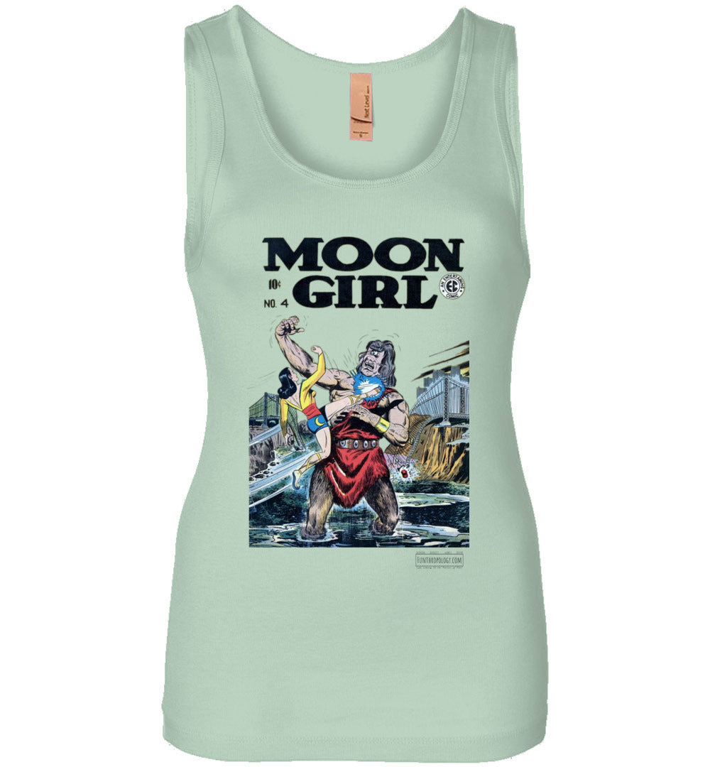 Moon Girl No.4 Tank Top (Womens, Light Colors)