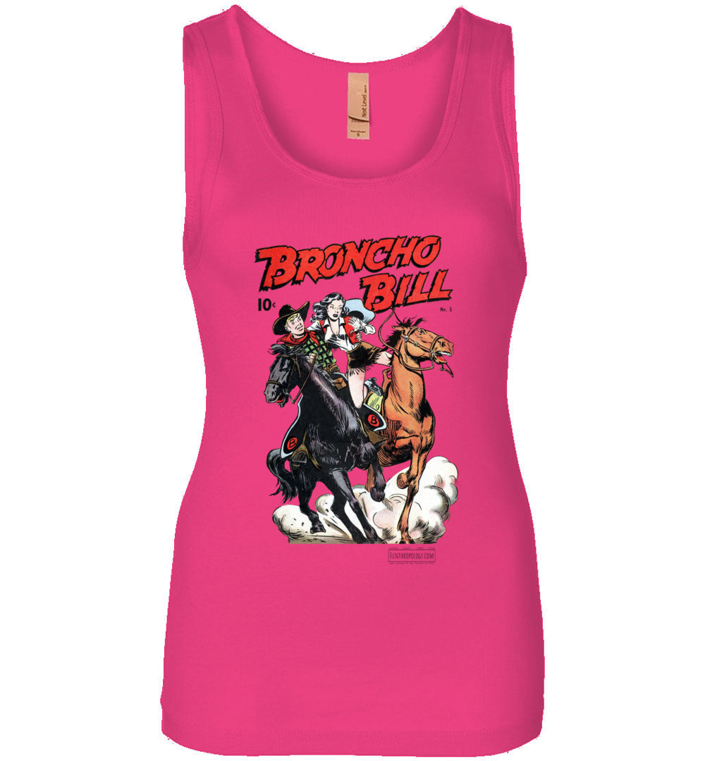 Broncho Bill No.5 Tank Top (Womens, Light Colors)