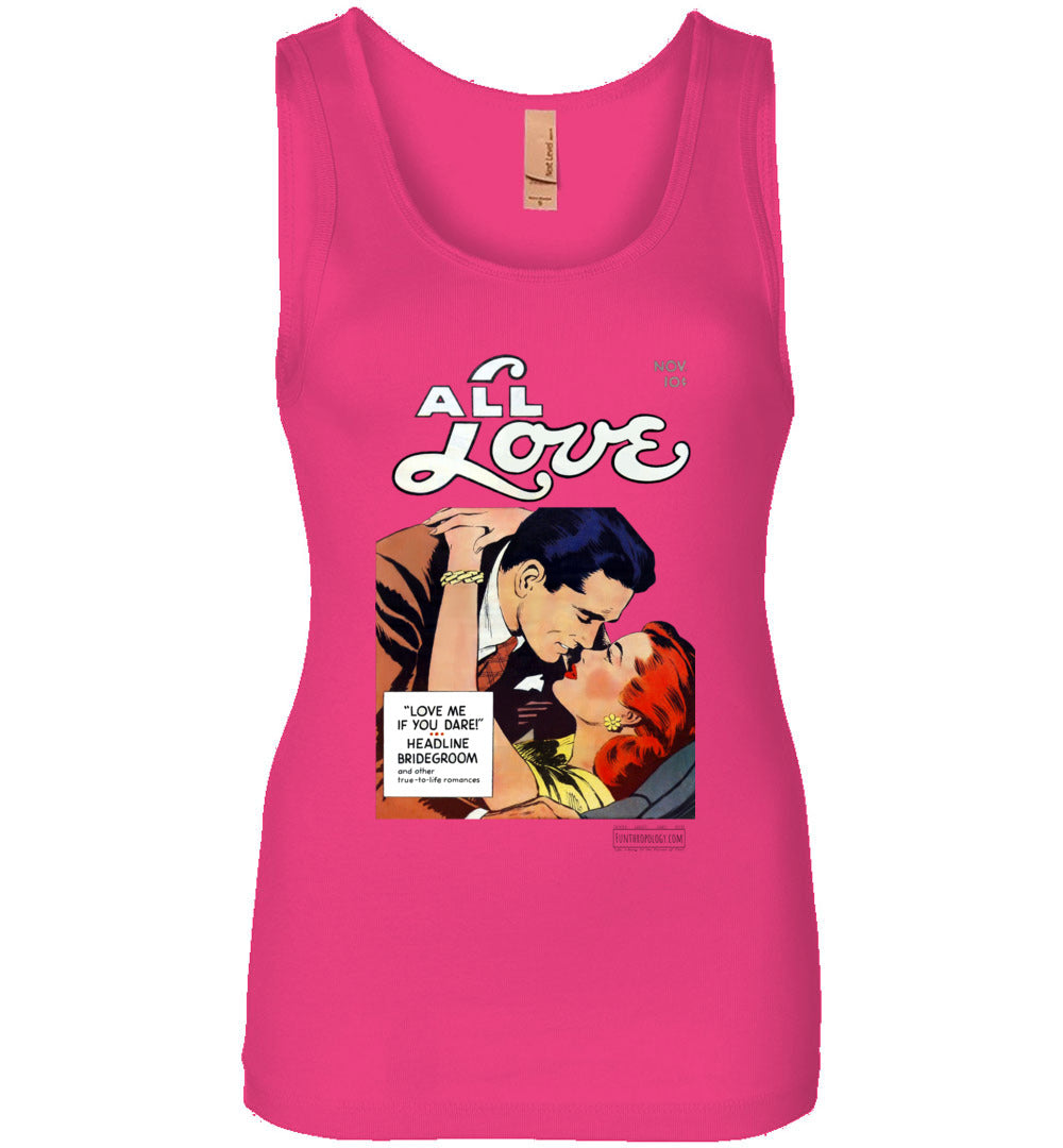 All Love No.29 Tank Top (Womens, Light Colors)