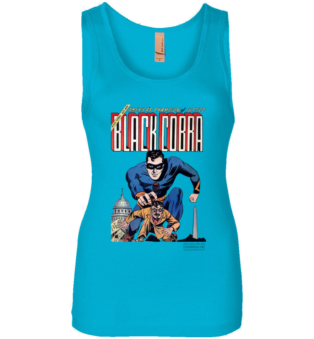 Black Cobra No.1 Tank Top (Womens, Light Colors)