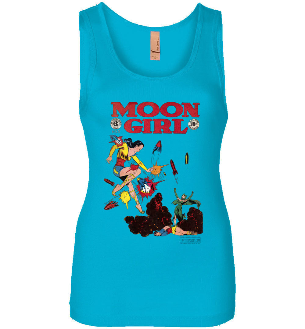 Moon Girl No.3 Tank Top (Womens, Light Colors)