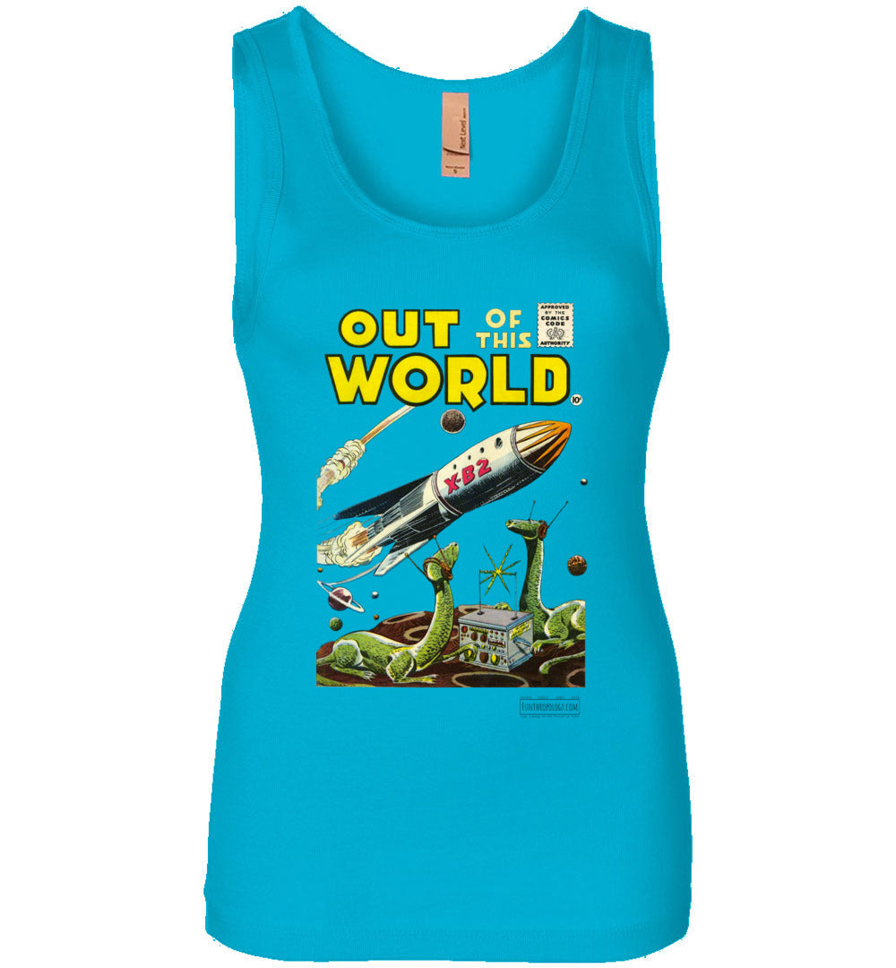 Out Of This World No.1 Tank Top (Womens, Light Colors)