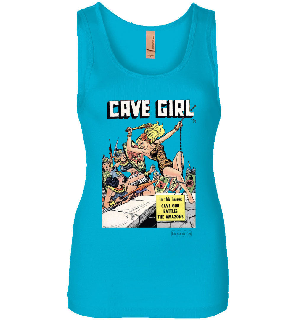Cave Girl No.13 Tank Top (Womens, Light Colors)