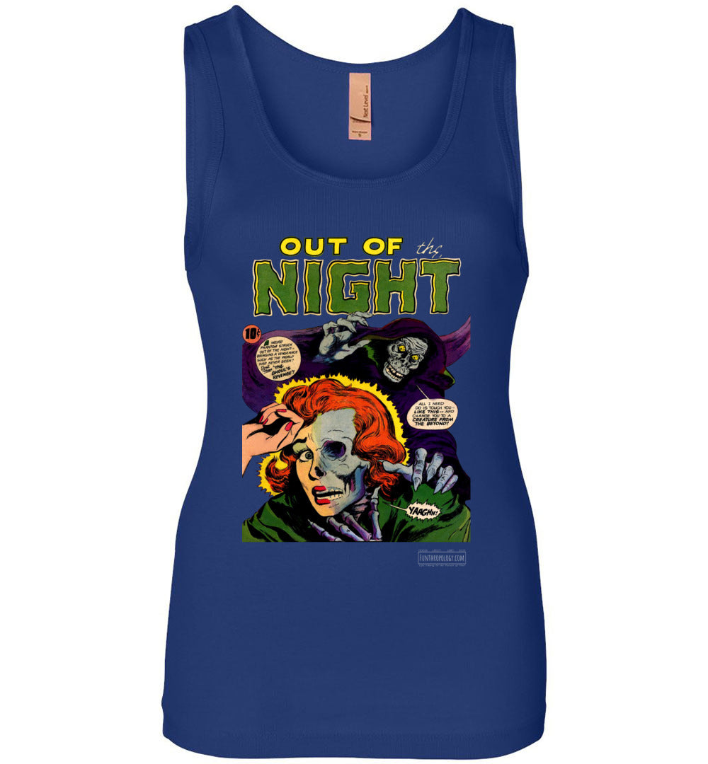 Out Of The Night No.6 Tank Top (Womens, Dark Colors)