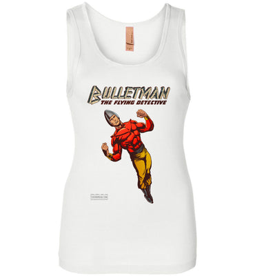 Bulletman Reimagined Tank Top (Womens, Light Colors)
