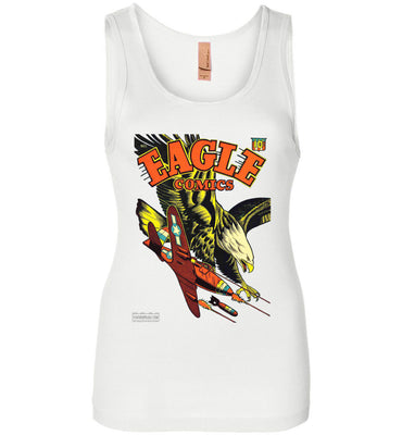 Eagle Comics No.1 Tank Top (Womens, Light Colors)
