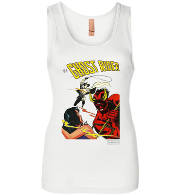 The Ghost Rider No.12 Tank Top (Womens, Light Colors)