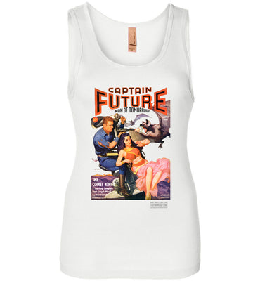 Captain Future No.11 Tank Top (Womens, Light Colors)