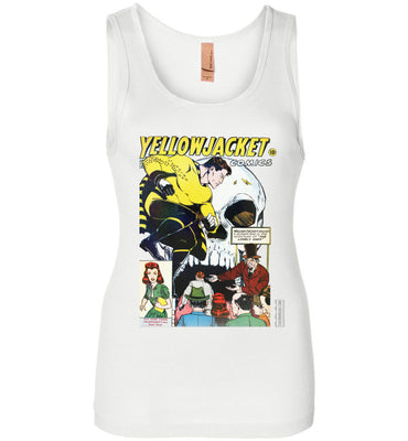 Yellowjacket No.7 Tank Top (Womens, Light Colors)