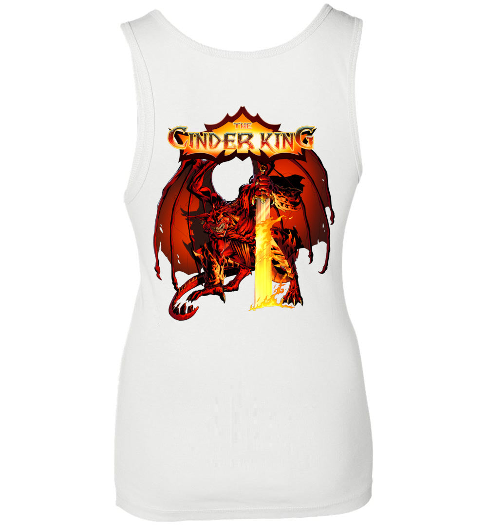Capes & Chaos The Cinder King Tank Top (Womens)