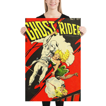 The Ghost Rider No.5 - Poster