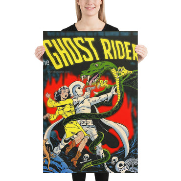 The Ghost Rider No.7 - Poster