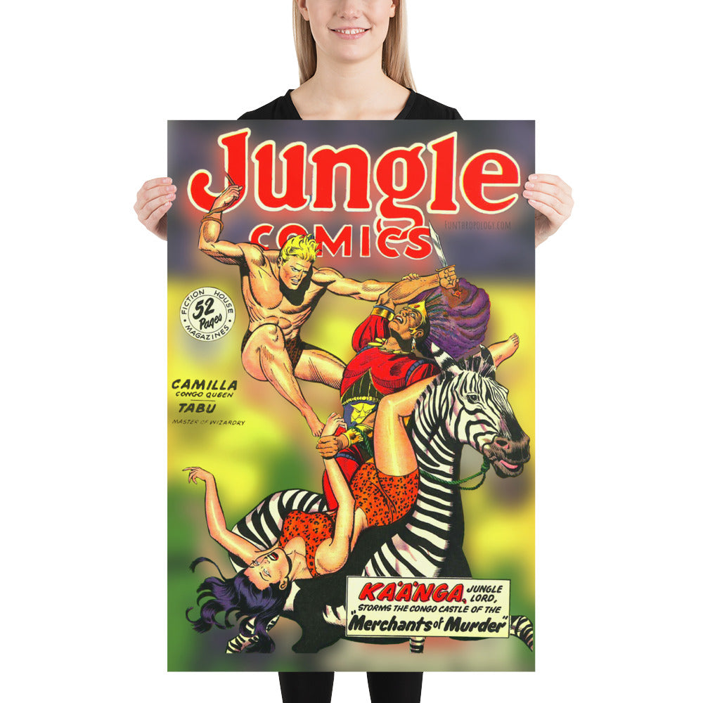 Jungle Comic No.108 - Poster