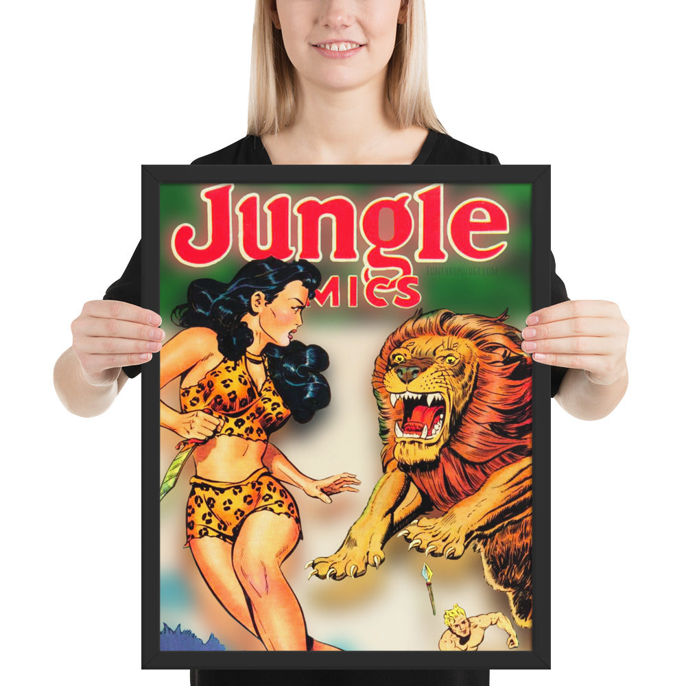 Jungle Comics No.135 - Framed Poster