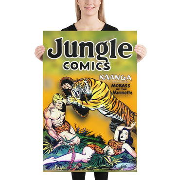 Jungle Comics No.112 - Poster