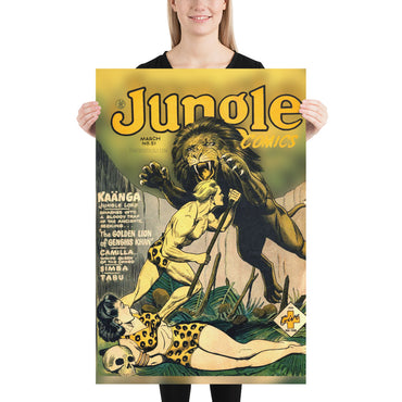 Jungle Comics No.51 - Poster