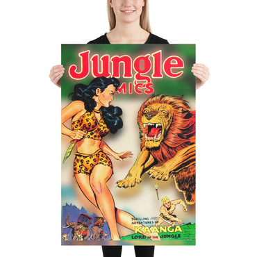 Jungle Comics No.135 - Poster