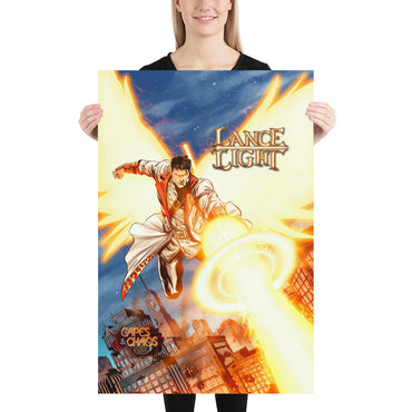 Lance Light - Sun Lance Cannon - Poster