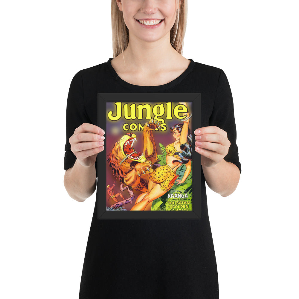 Jungle Comics No.137 - Framed Poster