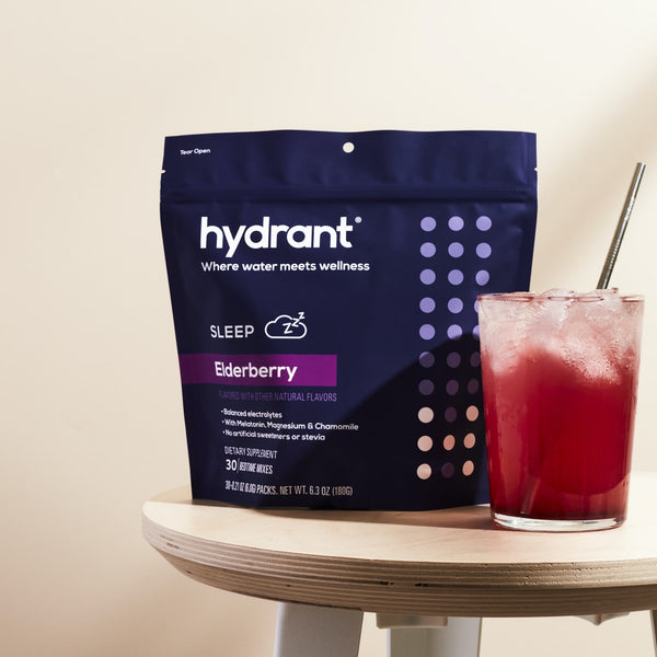 Hydrant Drink Mix Pack Elderberry