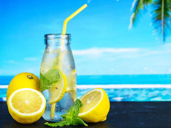 Hydration from Drinking Lemon Water