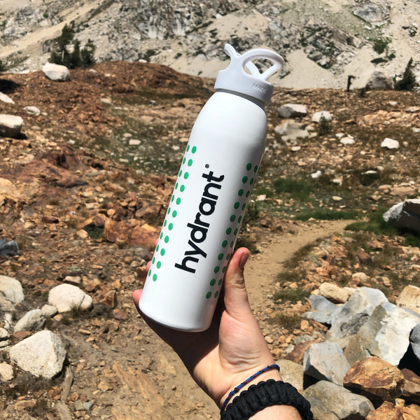 keep water and electrolytes on hand