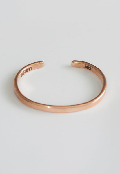 OFF DUTY x LOIS MATHAR COPPER BRACELET