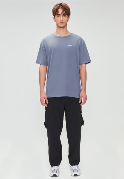 RIGG ACTIVE TEE BLUE GREY