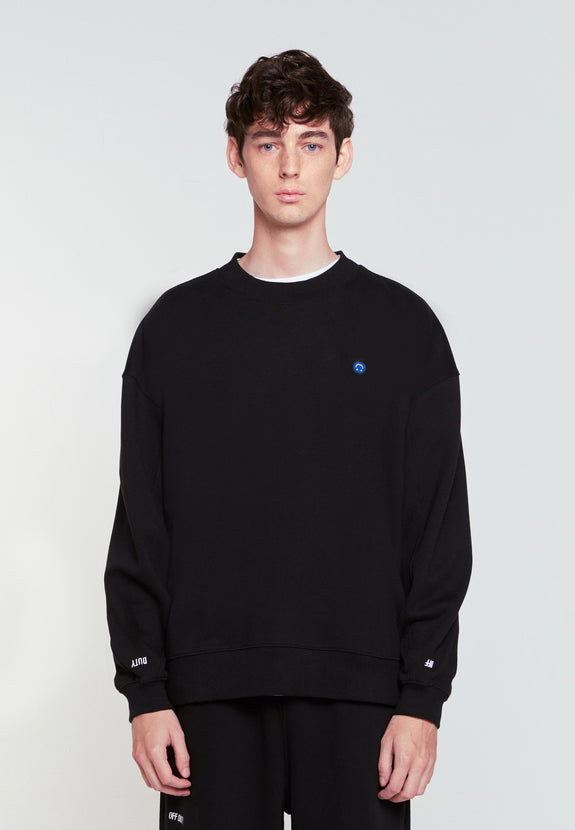 HAP SWEATSHIRT BLACK