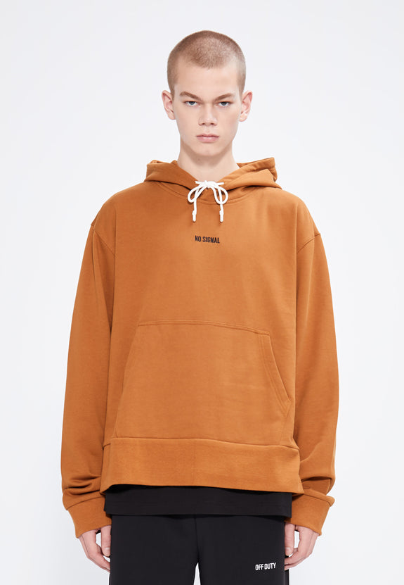 NO SIGNAL HOODY MOUTARDE