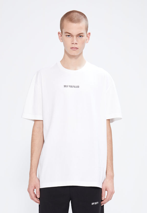 SELF FULFILLED TEE WHITE
