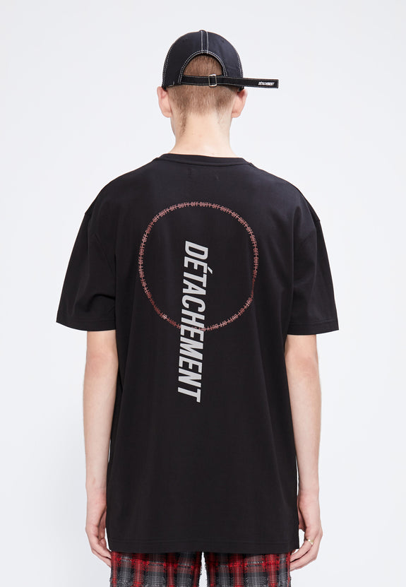 DÉTACHEMENT.001 TEE BLACK