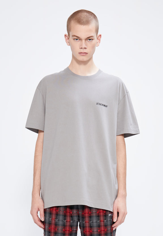 DÉTACHEMENT.002 TEE GREY