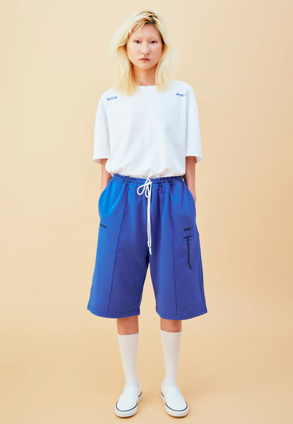 BLEEK BOYFRIEND SHORTS BLUE
