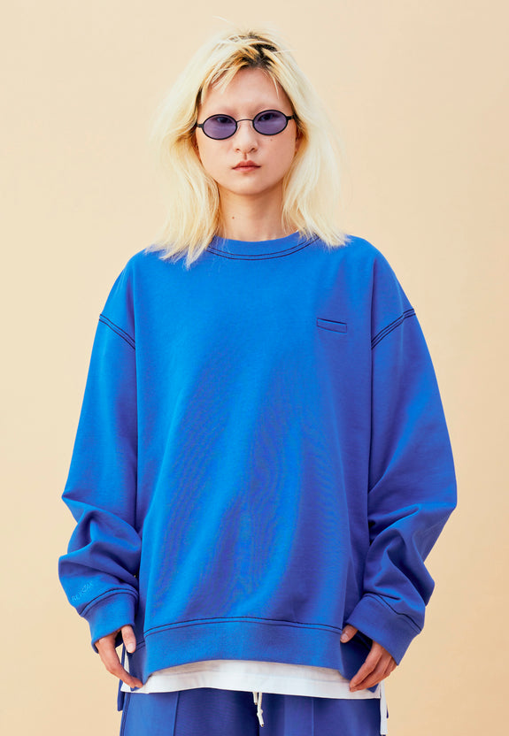 BLEEK SWEATER BLUE