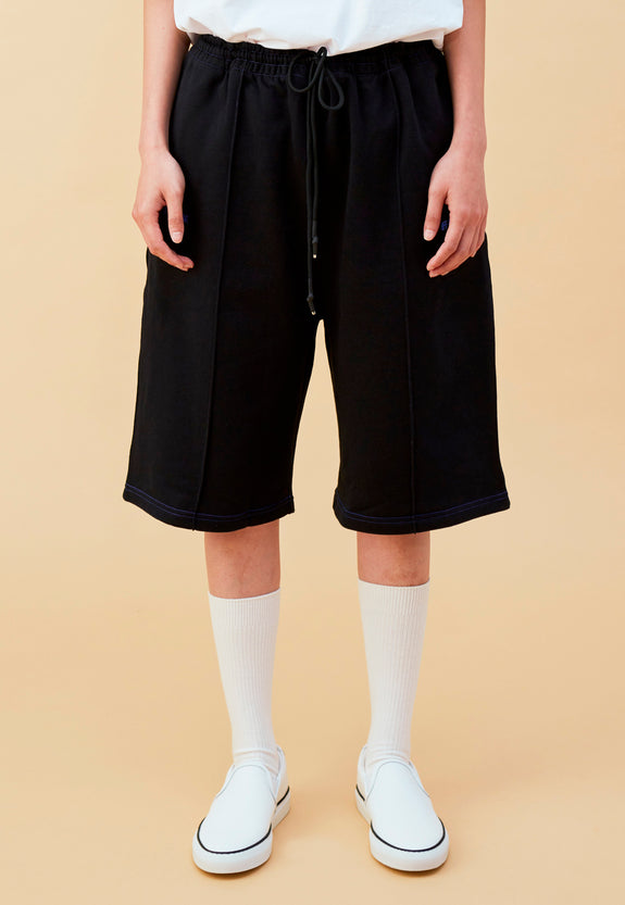 BLEEK B BOYFRIEND SHORTS BLACK