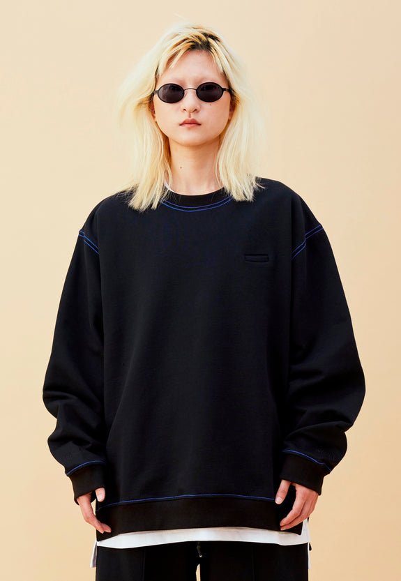 BLEEK B SWEATER BLACK