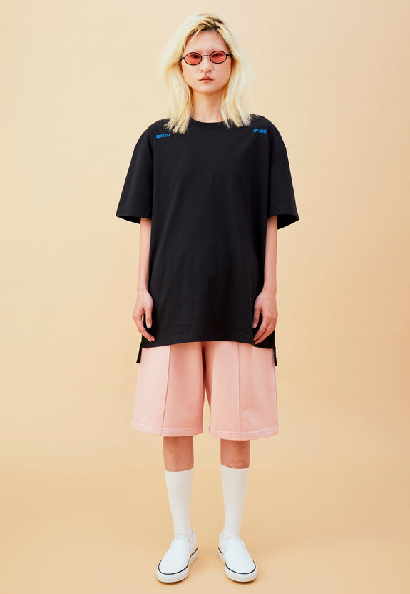OD x BLYSZAK OPTICAL TEE BLACK