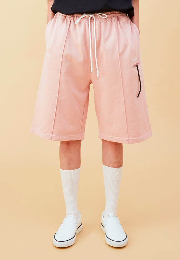 BLEEK BOYFRIEND SHORTS DUSTY PINK