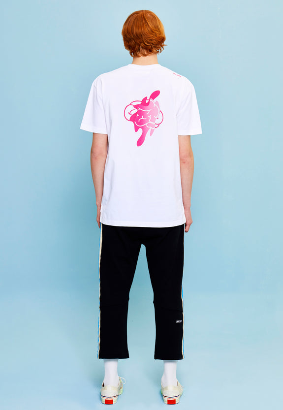 OUT OF MIND TEE WHITE