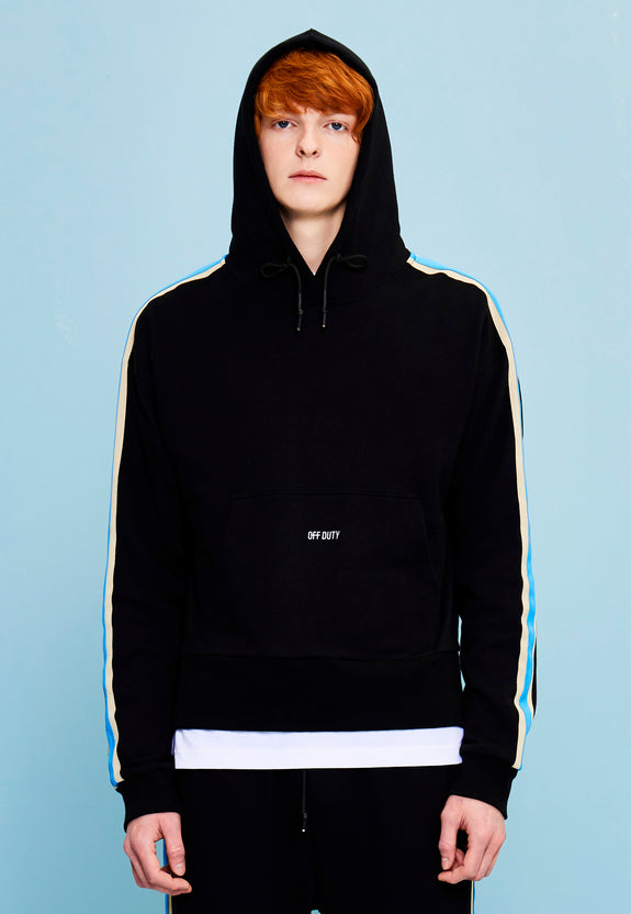 STAT HOODY BLACK