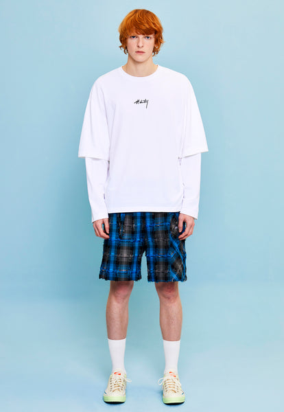 LYDE LS TEE WHITE