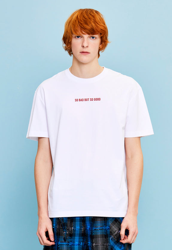 SO BAD SO GOOD TEE WHITE