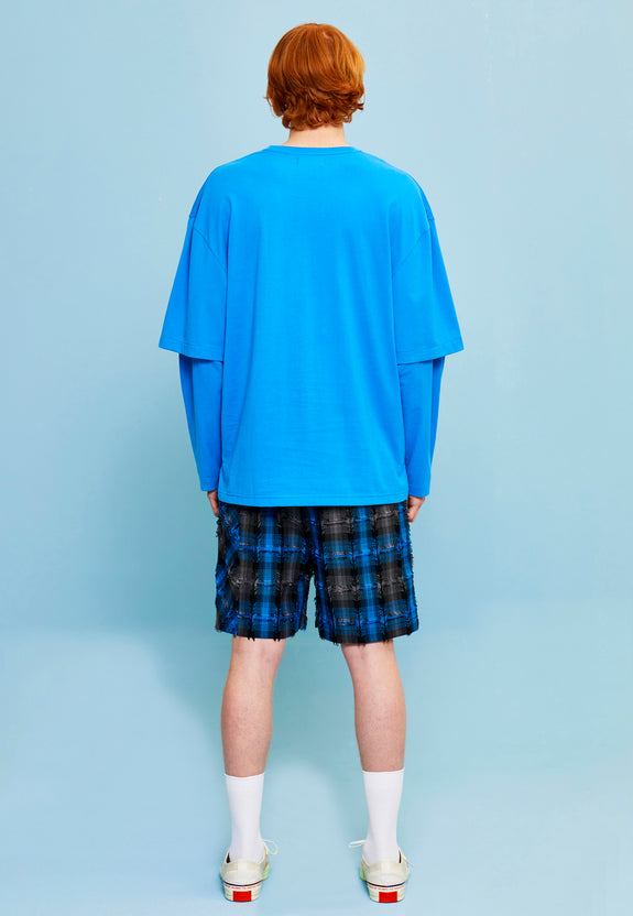 LYDE LS TEE BLUE