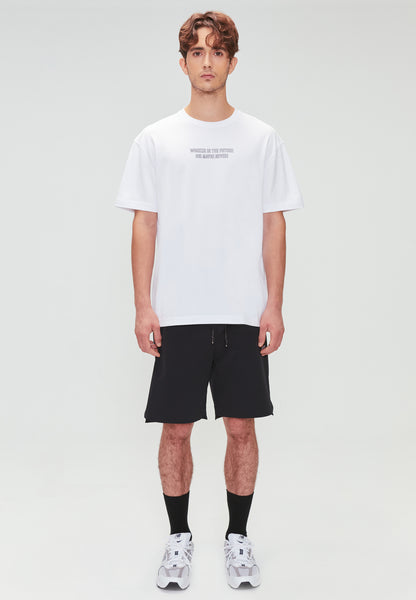 WORKER IN THE FUTURE TEE WHITE