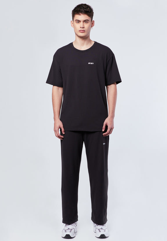 RIGG ACTIVE TEE BLACK