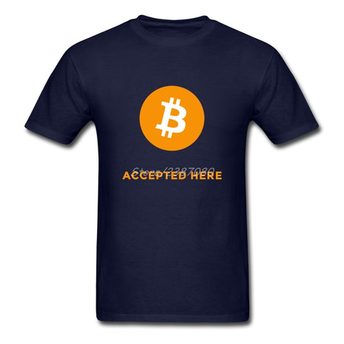 Accepted Here Bitcoin T Shirt