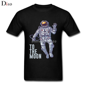 Litecoin Astronaut To the Moon T Shirt