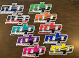 RDP Color Way Sticker 10x4.9""